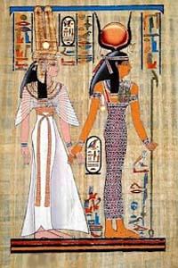 мода древнего Египта