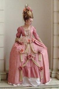 Женские платья в 18 веке в англии