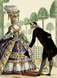 мода 18 века