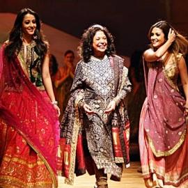 лучшие модные дизайнеры Индии Ritu Kumar