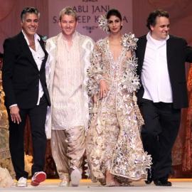 лучшие модные дизайнеры Индии Abu Jani и Sandeep Khosla