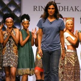 лучшие модные дизайнеры Индии Rina Dhaka