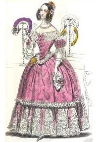 одежда викторианских женщин