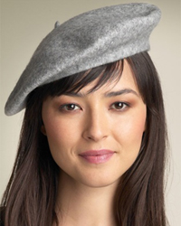 Berets, as you no doubt know, are the pancake-like hats that certain hard-working...
