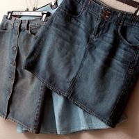 С чем носить джинсовую юбку: основа для различных образов