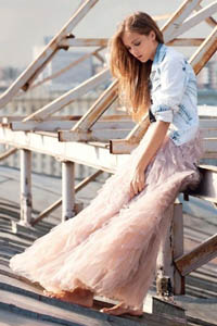Hot or not: как правильно носить укороченный кардиган и юбку макси