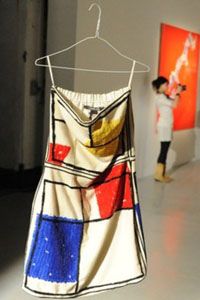 стиль модерн одежда