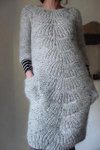 оригинальные трикотажные платья