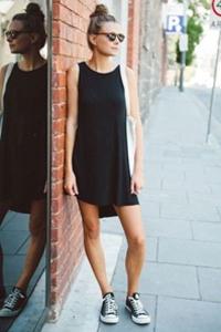 короткие трикотажные платья