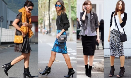 Ботильоны и для юбки и для брюк
