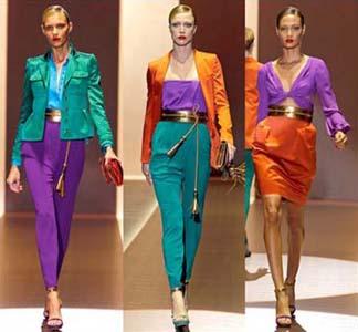 как носить яркие цвета