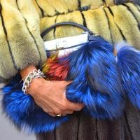 разноцветный мех с мехом