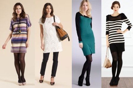 выбор вязаного платья