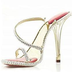самые дорогие туфли Borgezie stilettos