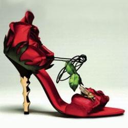 самые дорогие туфли Mai Lamore's Rose shoes