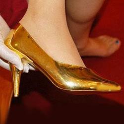 самые дорогие туфли Pure Gold shoes