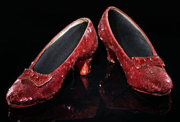 самые дорогие туфли Ruby Slippers Wizard of Oz Ronald Winston