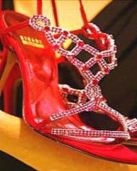 самые дорогие туфли Ruby Slippers Stuart Weitzman