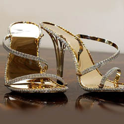 самые дорогие туфли Shellis stilettos