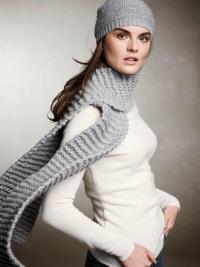 Модный шарф - стильный аксессуар