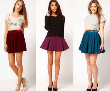 С чем надеть юбку с высокой талией