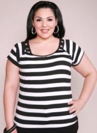 horizontal strip Одяг для повних жінок   секрети краси і елегантності