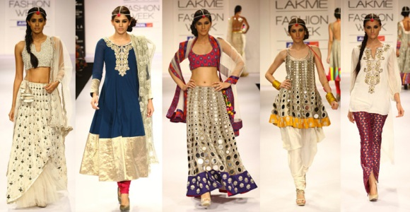 Своими руками платье в индийском стиле 29