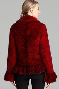 Куртки из вязаной норки: чудеса модных комбинаций