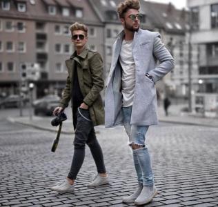 стиль одежды парней