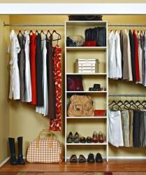 навести порядок платяном шкафу
