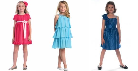 Выбираем платье для девочки