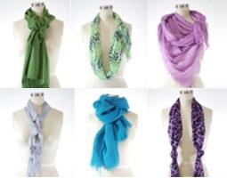 способы красиво носить шарф