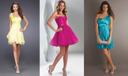 Платья на выпускной для молодой девушке