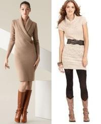 Трикотажне плаття-светрдля роботи і повсякденного носіння - допомога ... 6b132123f0bfe