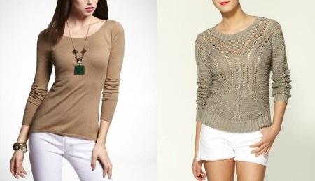 как выглядеть шикарно в свитере