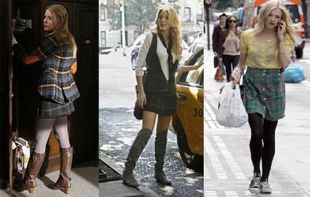 как носить винтажные мини юбки