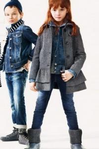утепленные джинсы для девочек