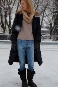 утепленные джинсы для подростков
