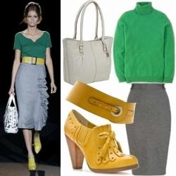 De qué ponerse verde, ropa de mujer, moda en calle, moda y estilo,