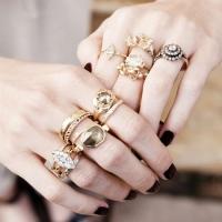 способы носить кольца
