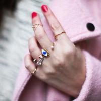 anillos, accesorios, joyería