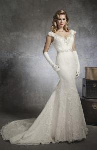 современные свадебные платья в винтажном стиле