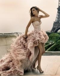 нетрадиционное свадебное платье
