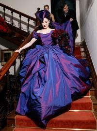 нетрадиционное свадебное платье Дита фон Тиз