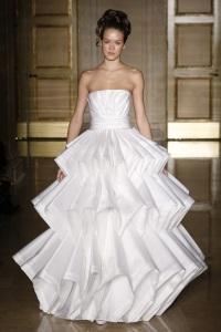 нетрадиционное свадебное платье Douglas Hannant
