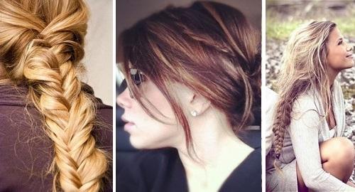Косы на длинные светлые волосы