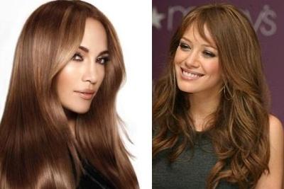 Color del pelo de chocolate, coloracion del cabello, colorear el Cabello,