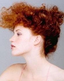химическая завивка окрашенных волос