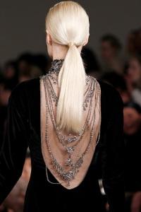 вечерние прически для длинных волос Ralph Lauren
