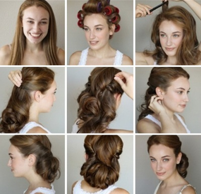 Прически на средние волосы. Более 1000 фото модных